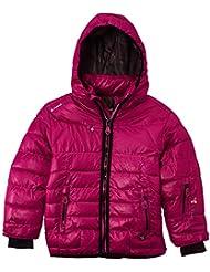 Peak Mountain Falpine/yl - Chaqueta de esquí para niña, color fucsia, talla FR : 5 ans (Talla fabricante : 5)
