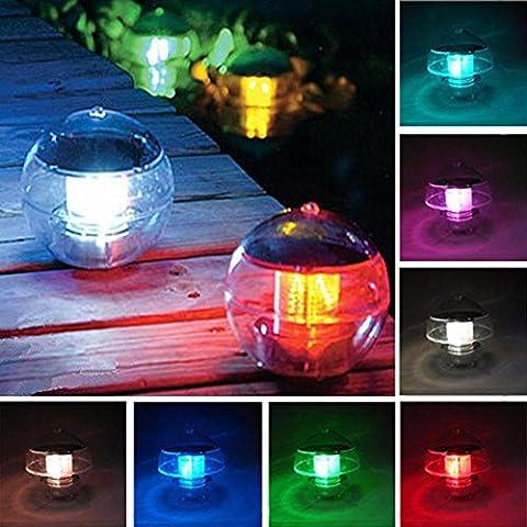 KKVV boules de couleur LED solaire flottante Light 1