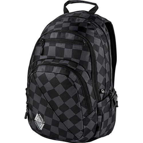 Nitro Stash Rucksack, Schulrucksack, Schoolbag, Daypack,  Checker, 49 x 32 x 22 cm, 29 L,