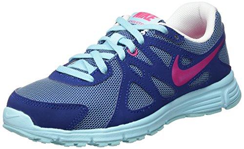 Nike Mädchen Revolution 2 GS Sneakers, blau, 36 EU - Nike 2 Revolution Mädchen