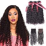 Best Extensions de cheveux humains arc - 100% Cheveux Humains Vague De Cheveux Coiffure Tête Review