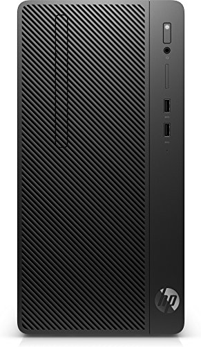 HP 290 G2 3 GHz i5 - 8500 Micro Tower schwarz Mini PC (Hp Pc Mini)