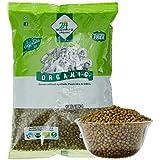 24 Mantra Organic Green Moong Whole, 500g