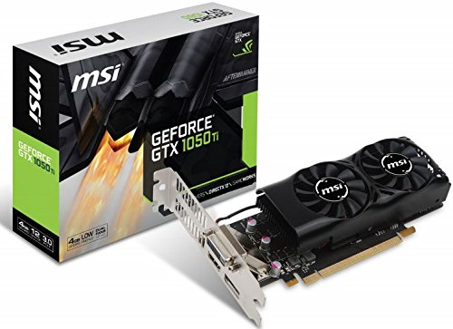 MSI V809-2404R GeForce GTX 1050 Ti 4GB GDDR5 - Tarjeta gráfica (NVIDI