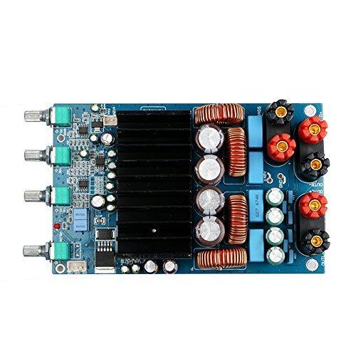 Nobsound TAS5630 2.1 Channel 4ohm Class D Digital Amplifier Board; DIY Power Amp Board for Audiophiles 300W+150W+150W