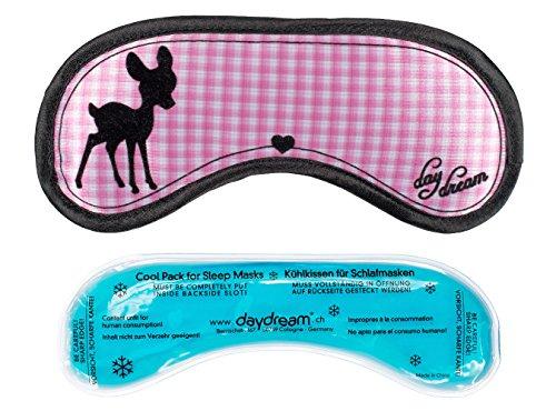 daydream: BAMBI Schlafmaske + gratis Kühlkissen (= Kühlmaske) , (A-1020 ) Frauen & Männer, Testsieger Vergleich.org, Schlafmasken, Schlafbrille, Augenmaske, Augenklappe