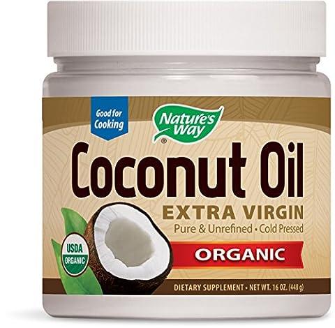 Nature's Way - Coconut Oil Organic - Huile de Coco Bio - 473ml