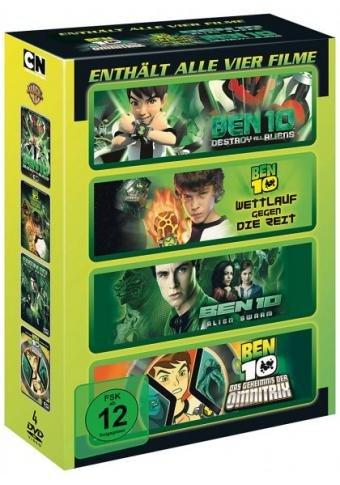 Ben 10 Movie Collection - Enthält alle vier Filme [4 DVDs]