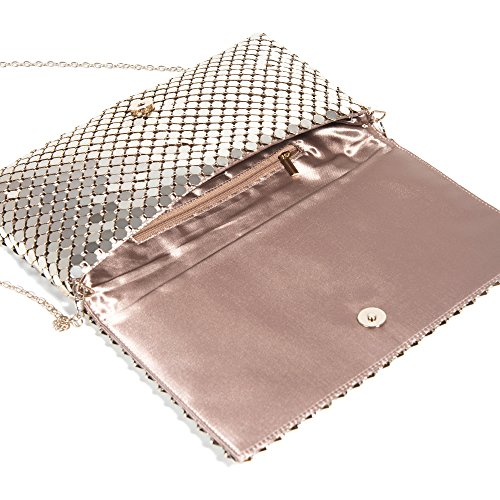 Parfois - Clutch - Party Pochette Big Mesh - Donne Oro