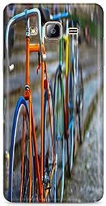 PCM High Quality Printed Designer Polycarbonate Hard Back Cover for Samsung Galaxy J2 2016 ( J210FZDDINS) - Matte Finish - Color Warranty - 0433