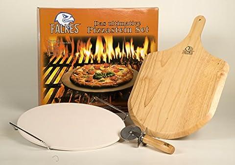 Le kit ultime Pierre à pizza pour barbecue et four–Avec