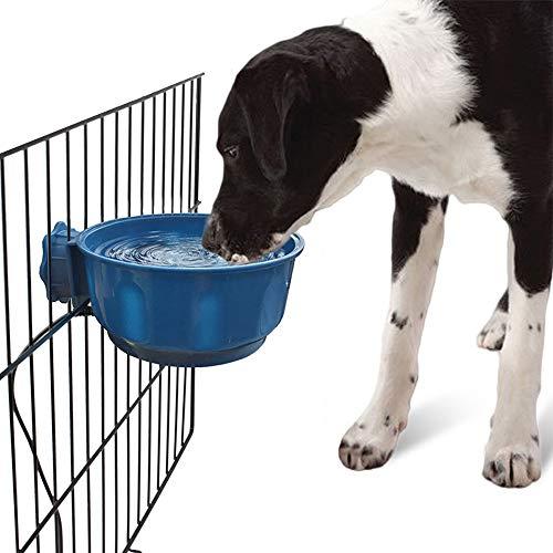 Thermal Dispenser (Heizung Pet Water Dispenser, Futternapf, Speiseschale/Durchlauferhitzer Schüssel,darkblue)