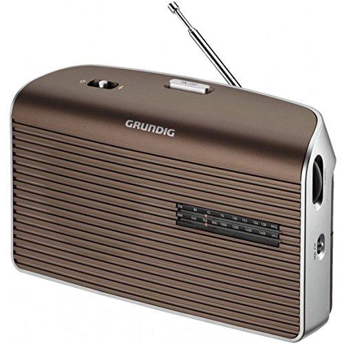 Grundig Music 60 Wado LED Wandleuchte Radio/Radio-Wecker