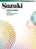 Suzuki Cello School - Volume 3 (Revised): Piano Accompaniment