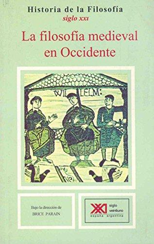 La filosofía medieval en Occidente por Jean Jolivet