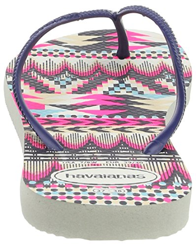 Multicolore 0052 Havaianas Blue White Slim Tribal Infradito Donna Navy 1RRqnwIFW