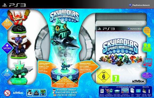 Skylanders: Spyro's Adventure - Starter Pack inkl. 3 Figuren - Figuren Ps3 Skylanders