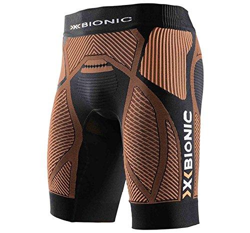 x-bionic-man-the-trick-ow-pant-short-de-course-pour-homme-m-multicolore-noir-orange