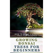 Growing Bonsai Tress For Beginners: How to Begin a Bonsai Tress for Dummies (English Edition)