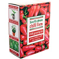 Chilli Growing Kit from the chilli experts at the South Devon Chilli Farm - all you need to grow chilli plants presented in a stunning gift box.