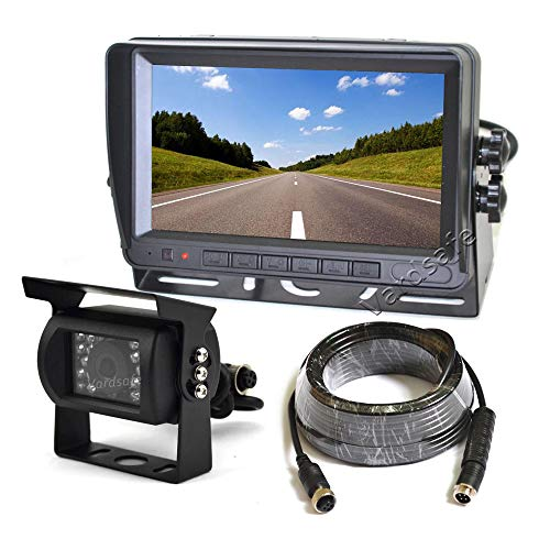 Vardsafe VS803M Rückfahrkamera mit digitalem Farbständer für Wohnmobil, Wohnmobil, Traktor, LKW, Bus