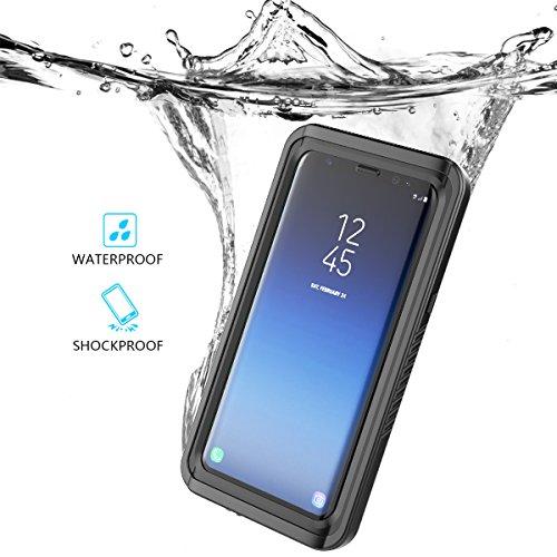 Samsung Galaxy S9 Hülle Wasserdichte Case Transparente Clear Outdoor Stoßfest IP68 Zertifizierung Unterwasser Full Sealed Kristallklarem HandyTasche Hülle Waterproof Backcover Schutzhülle