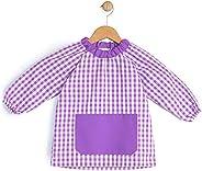 BeBright Babi Escolar Infantil sin Botones, Bata Escolar Niña y Niño, Mandilón de Guardería- Fabricado en Espa