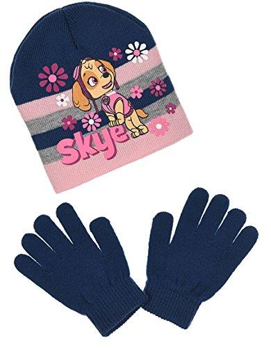 ad85b32c7a33 Bonnet et gants enfant fille La Pat  Patrouille 3 coloris de 3 à 9ans (