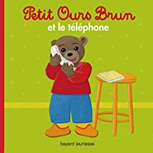 PETIT OURS BRUN TELEPHONE NED