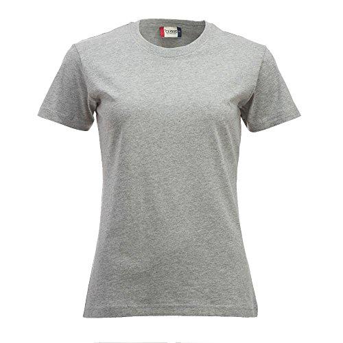 Clique - Damen T-Shirt 'New Classic-T' graumeliert (95)