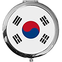 "metALUm - Extragroße Pillendose in runder Form""Flagge Süd Korea"" preisvergleich bei billige-tabletten.eu"