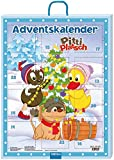 Adventskalender Pittiplatsch: 24 Mini-Büchlein