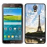 // PHONE CASE GIFT // Duro Estuche protector PC Cáscara Plástico Carcasa Funda Hard Protective Case for Samsung Galaxy Mega 2 / Paris Tour Eiffel /