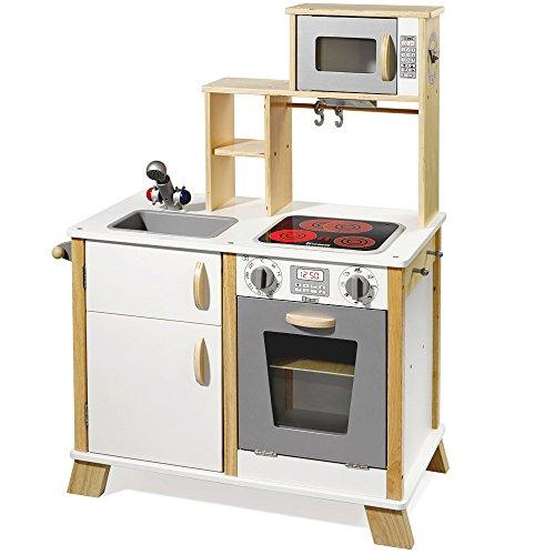 inderküche Chefkoch aus Holz mit LED-Kochfeld 4820 ()