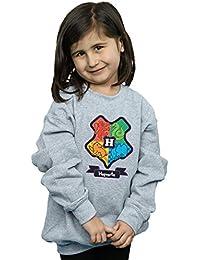 Harry Potter niñas Hogwarts Junior Crest Camisa De Entrenamiento
