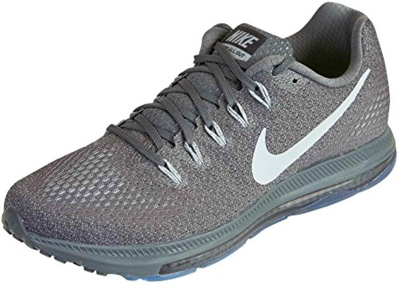 Nike Herren Zoom alle draußen niedrig dunkelgrau / Wolf grau / Pure Platinum Nylon Laufschuhe UK 7 EU 41 US 8