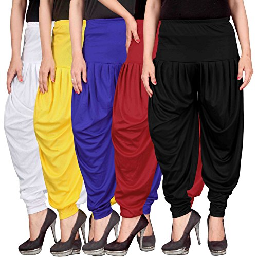 Dhoti pants for womens -Culture the Dignity Women's Lycra Dhoti Patiala Salwar...