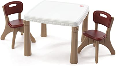 Step2 Life Style Kitchen Table and Chairs Set, Tan