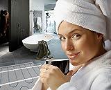 Elektrische Fußbodenheizung Nexans Millimat/100 N-HEAT ® mit Thermostat CDFR-003, Quadratmeter und Watt:8.0m² 800W