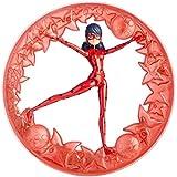 Prodigiosa: Las aventuras de Ladybug - Figura Ladybug rueda giratoria (Bandai 39740)