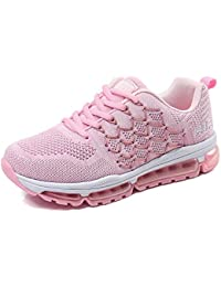 BETY Homme Femme Air Baskets Chaussures Gym Fitness Sport Sneakers Style  Running Multicolore Respirante 34- cf3361a1cbd