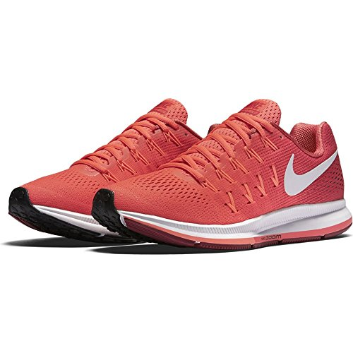 Nike Damen Wmns Air Zoom Pegasus 33 Laufschuhe Rot