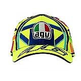 Valentino Rossi VR46 Moto GP Helmet Baseball Casquette Officiel 2018