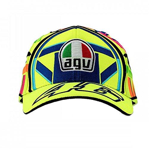 Valentino Rossi VR46 Moto GP Helmet Baseball Deckel Offiziell 2018