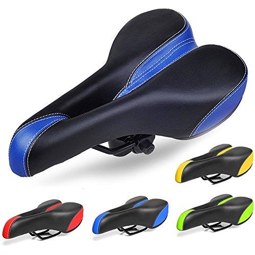 Pulen comodidad bicicleta apto para bicicleta de carretera y sillín de bicicleta almohadilla de sillín para bicicleta de montaña ciclismo asiento