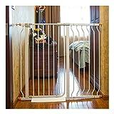 Cancelletto di Sicurezza Cancelli For Bambini Espandibili Porta Da Giardino Extra Larga Porta For Animali Domestici Bar Recinto For Cani Recinzione For Ringhiere For Scale Interna Anti-cane Recinzione