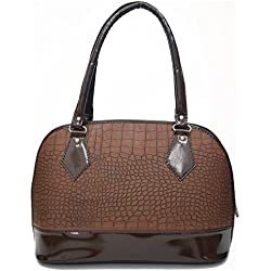 INKDICE Pebble Stone Brown Handbag for Women