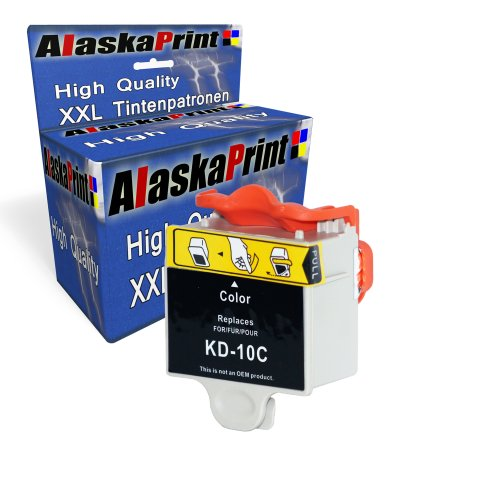 Premium Druckerpatrone Kompatibel für Kodak 10c XL Farbig Color - Drucker 3250 Kodak Tinte