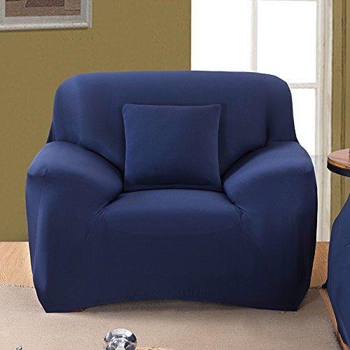 LY&HYL contro Four Seasons solido - divano slittamento imposta all - inclusive semplice copridivano moderno , navy , 235*300Sofa Cover - Navy Blue Slittamento