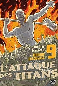 L'Attaque des Titans Édition Colossale Tome 9